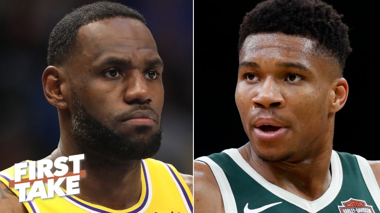 Lebron Or Giannis Who Is Leading The Nba Mvp Race First Take