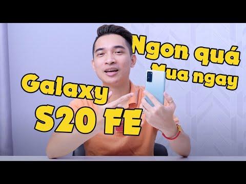 Samsung Galaxy S20 FE - Mình đã mua nó vì những lý do này!!!