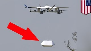 Google drones: Chipotle & Google to test burrito-delivering drones - TomoNews