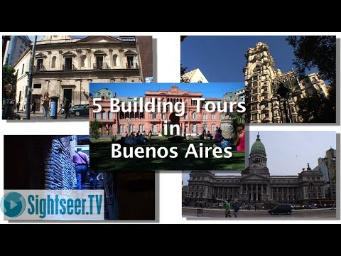 Buenos Aires Tours - 5 Great Building's to Visit
