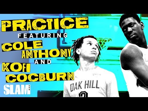 Cole Anthony and Kofi Cockburn are BORN LEADERS 🎙 | SLAM Practice