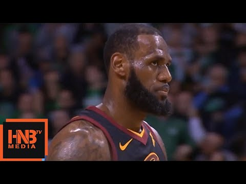 Cleveland Cavaliers vs Boston Celtics 1st Half Highlights / Game 7 / 2018 NBA Playoffs