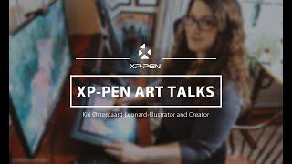 Gambar cover #MyArtCareer Inside the Art Studio & Interview with Fantasy Artist @Kiri Leonard