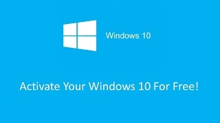 How To Activate Windows 10 In  90 Seconds! | Any Version | With Serial Key