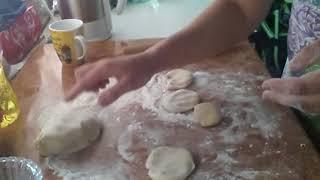 Заварное тесто и очень вкусные чебуреки