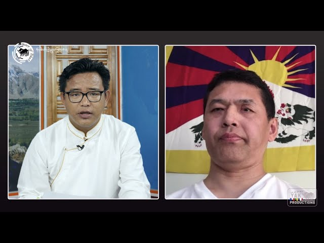 Interview with Thupten Norsang, lead petitioner protesting against resumption of duties by TSJC