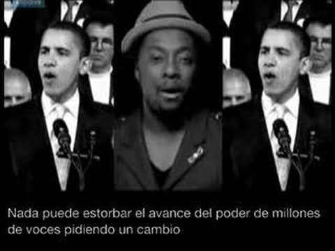 Yes We Can - Barack Obama Music Video - Spanish subtitles
