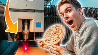 1.000.000€ LASER vs. Pizza