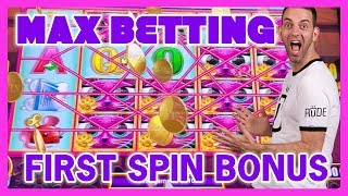 🎰MAX Betting➕First Spin BONUS🎡U Spin Deluxe JACKPOT🍸Cosmo LAS VEGAS ✦ BCSlots