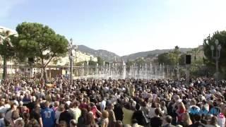 Promenade du Paillon  Inauguration