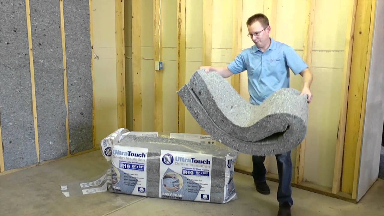 Ultratouch Denim Insulation Pop Youtube