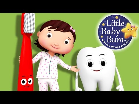 Thumbnail: This Is The Way We Brush Our Teeth | Part 2 | Nursery Rhymes | By LittleBabyBum!