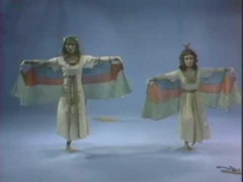 A Dance Depicting Ancient Egyptian Art