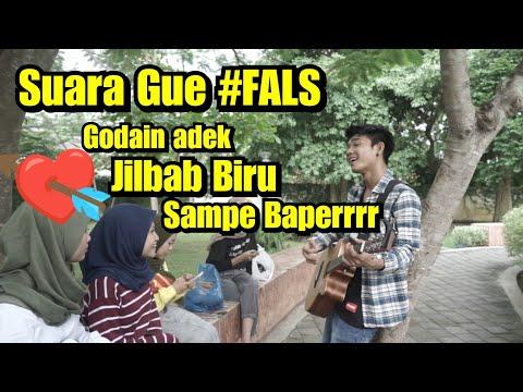 Suara Gue #FALS - Prank Ngamen sama Adek jilbab biru   Bojonegoro
