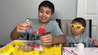 Edu Science  Advanced Chemistry kit. With REAL CHEMICALS INSIDE!