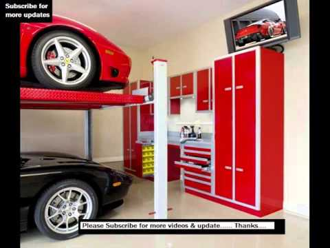 Garage Cabinets Design | Garage Storage, Cabinet Ideas   YouTube