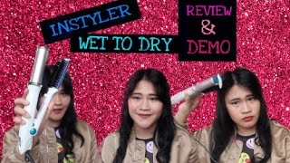 INSTYLER WET TO DRY Review + Demo (Indonesia)