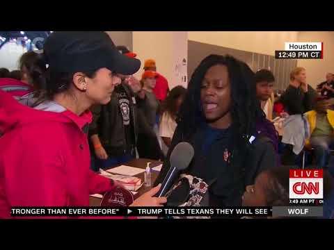 Hurricane Harvey Survivor Goes Postal on CNN Reporter