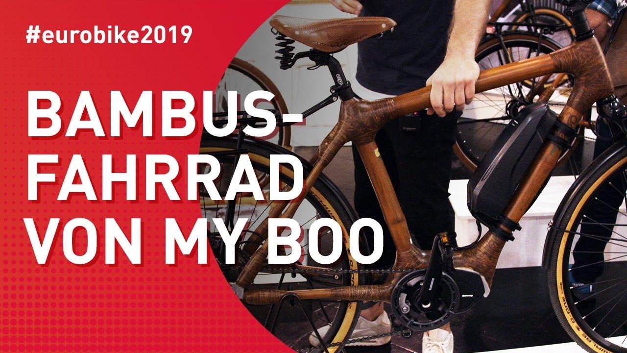 Bambus-Fahrrad von my Boo