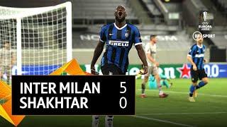 Inter Milan vs Shakhtar Donetsk (5-0) | UEFA Europa League highlights