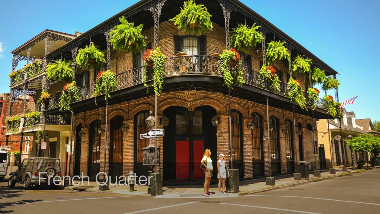 The Diverse And Vibrant Architecture Of New Orleans YouTube