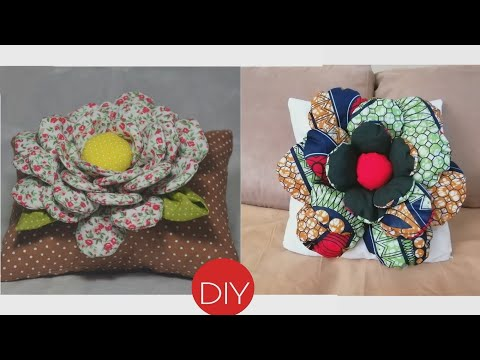 diy-room-decor:-how-to-make-a-flower-cushion-cover-with-zipper