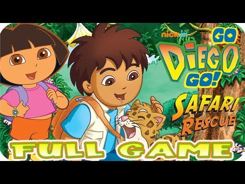 Go, Diego, Go! Safari Rescue FULL GAME Longplay (Wii, PS2)