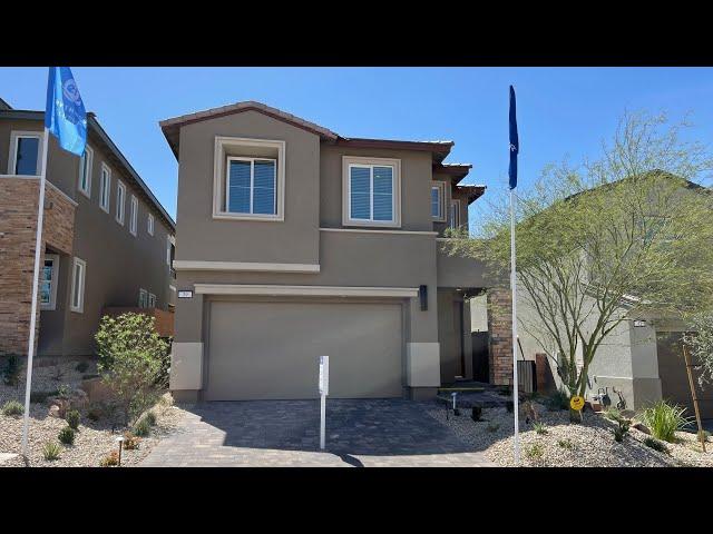 New Home For Sale Lake Las Vegas   Armano by Lennar   Lynn Home Tour   Balcony Views $424k+ 1,949 sf