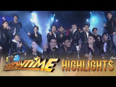 It's Showtime: Hashtags perform their new single