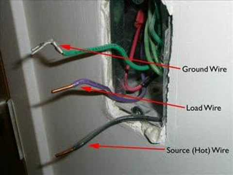 How to replace a light switch YouTube