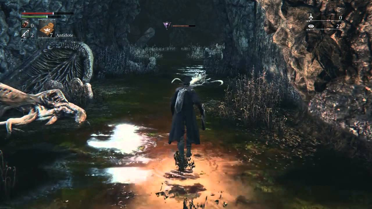 Bloodborne™ Nightmare Frontier Run Messenger`s Gift Hunter's Tool ...