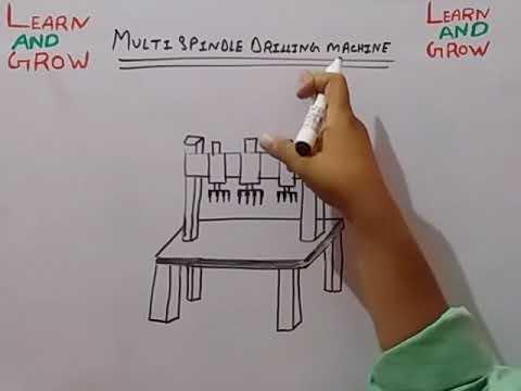Multispindle Drilling Machine (हिन्दी)