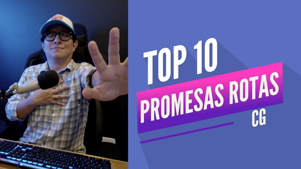 "TOP 10 ""Promesas Rotas del Gaming"" l Central Gaming"