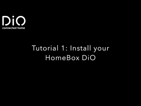 Dio Tutorialgetdiome 1 Install Your Homebox Dioen