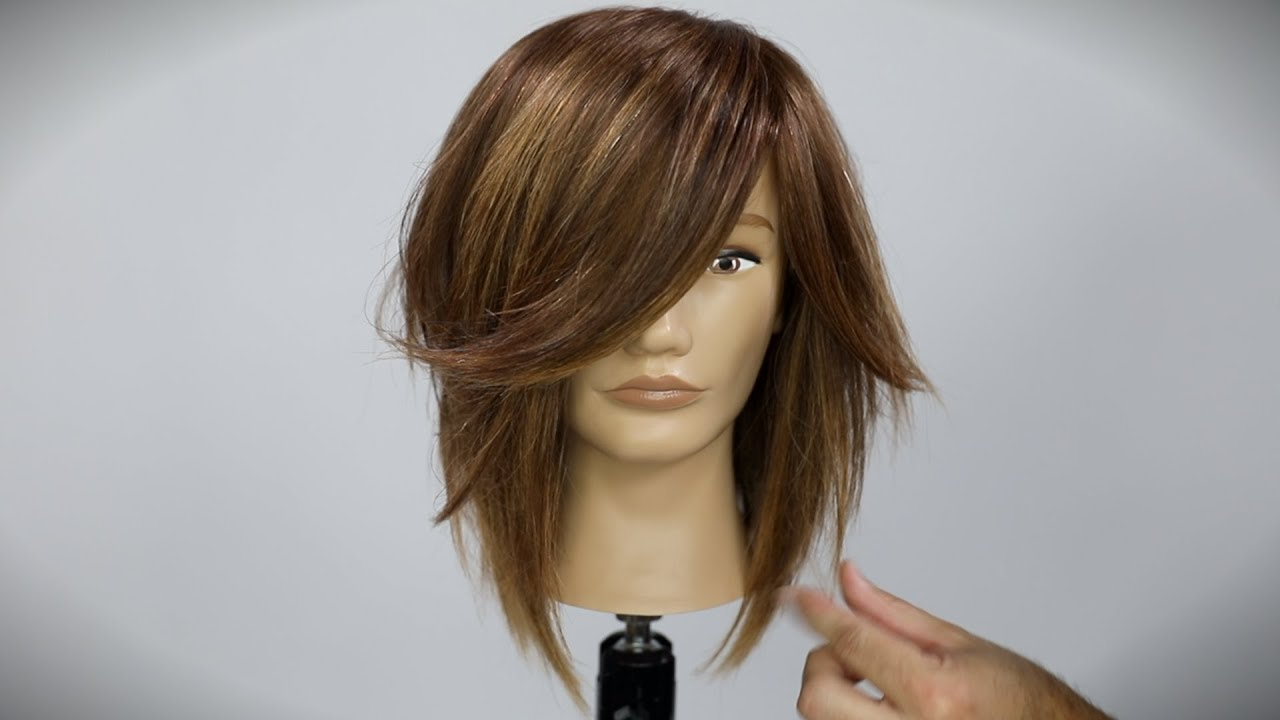 Shaggy Long Bob Haircut Tutorial