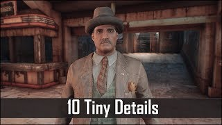 Fallout 4 - 10 Tiny Details You May Have Missed in the Wasteland - Fallout 4 Secrets (Part 7)