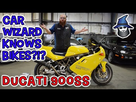 The CAR WIZARD's Ducati 2 for 1