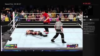 WWE 2K16 mycareer all i do is win