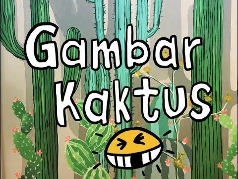 FAST PAINTING || Melukis Kaktus Hanya 4 Jam !! || By KUASGILAK