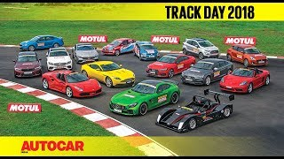 Track Day 2018 : The Cars with Narain Karthikeyan | Autocar India