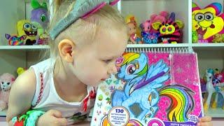 Мои маленькие пони рисуем и украшаем развивающая игра My Little Pony Educational game