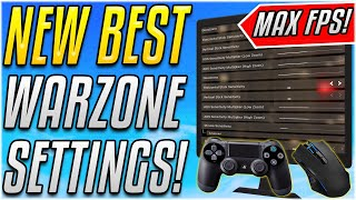 NEW WARZONE SETTINGS TΟ BOOST FPS & PERFECT CONTROLLER/MOUSE SENSITIVITY!![Warzone Academy]