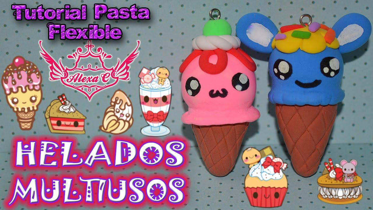 8fccc992c1c ♥ Tutorial  Helados Multiusos  Foamy Moldeable Pasta Flexible  Porcelana  Fría  ♥ - YouTube