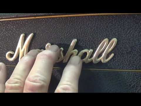1967 Marshall JMP-50 Model 1987 Plexi Lead Amplifier: Tube Rectified And Terrific !!