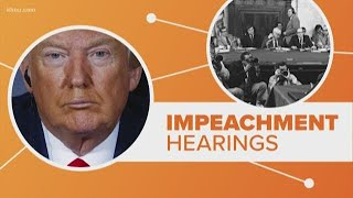 Connect the Dots | How do today's impeachment hearing compare with the past?