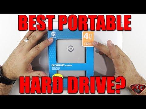 G-Technology G-Drive Mobile 4TB USB Hard Drive Unboxing  Best External Hard drive?