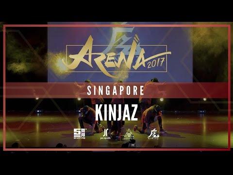 KINJAZ [SHOWCASE]   ARENA SINGAPORE 2017 [@VIBRVNCY 4K] #arenasg