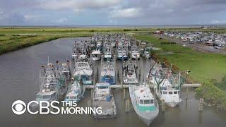 Louisiana residents flee as possible hurricane bears down