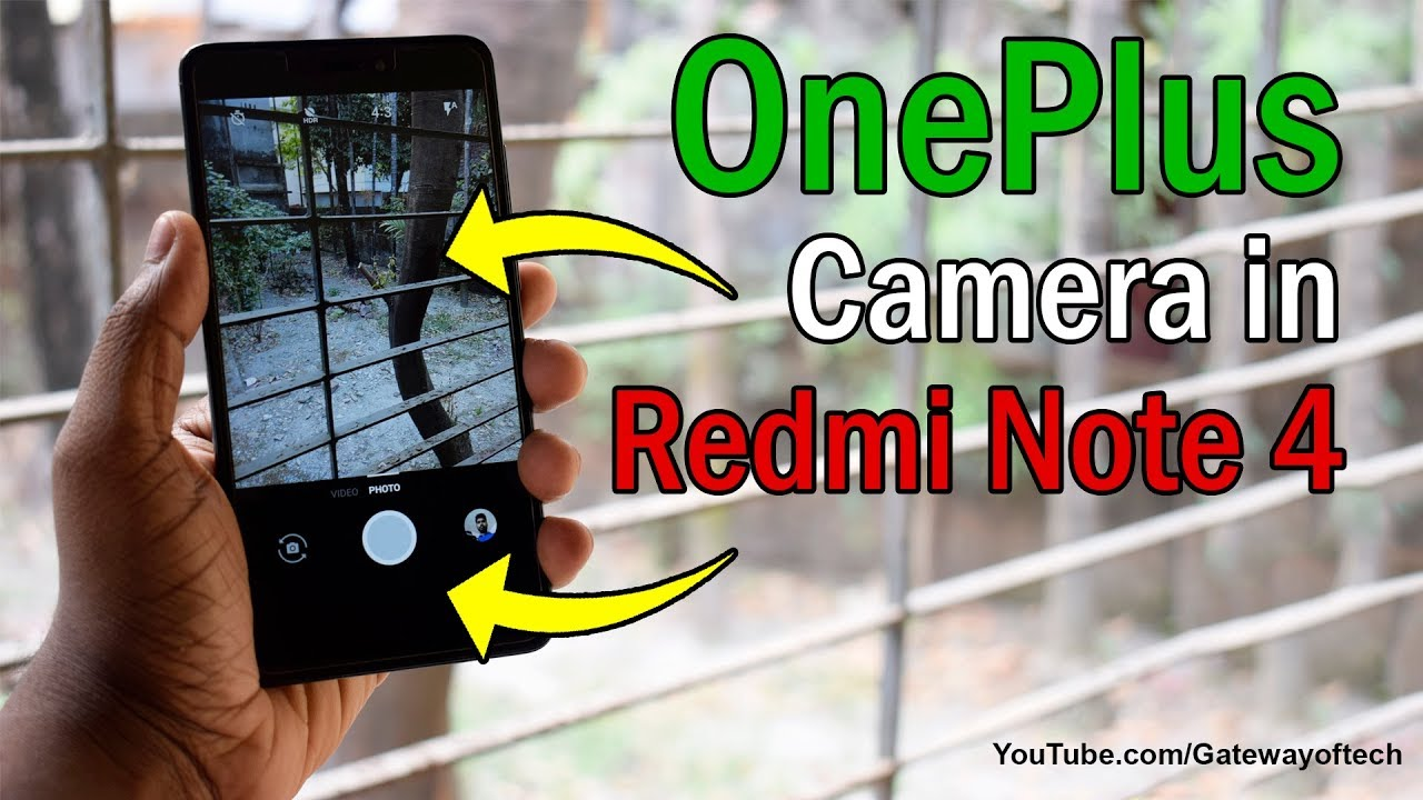 Oneplus camera App For Redmi Note 4 Redmi note 5 and 5 pro