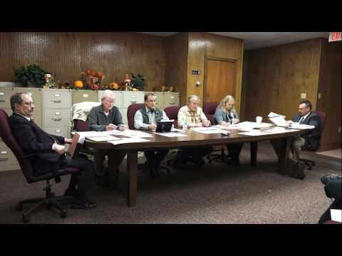 Board of Supervisors, Brecknock Twnshp NOV 8, 2016